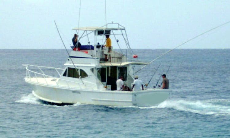 Enjoy Fishing in Bridgetown, Barbados with Captain Robbie