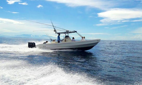 Enjoy Fishing With Friends On This 5 Persons Center Console In Herradura, Costa Rica