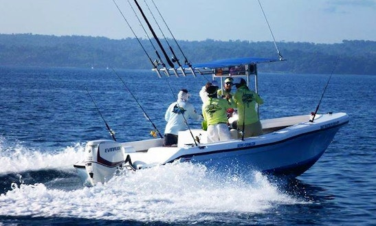 3 Persons Center Console Fishing Charter In Sierpe, Costa Rica