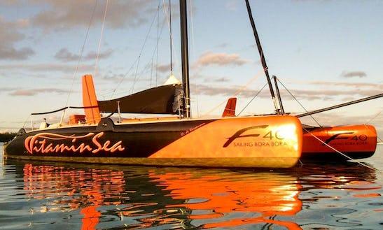 'vitamin Sea' Sailing Catamaran Charter In Bora Bora