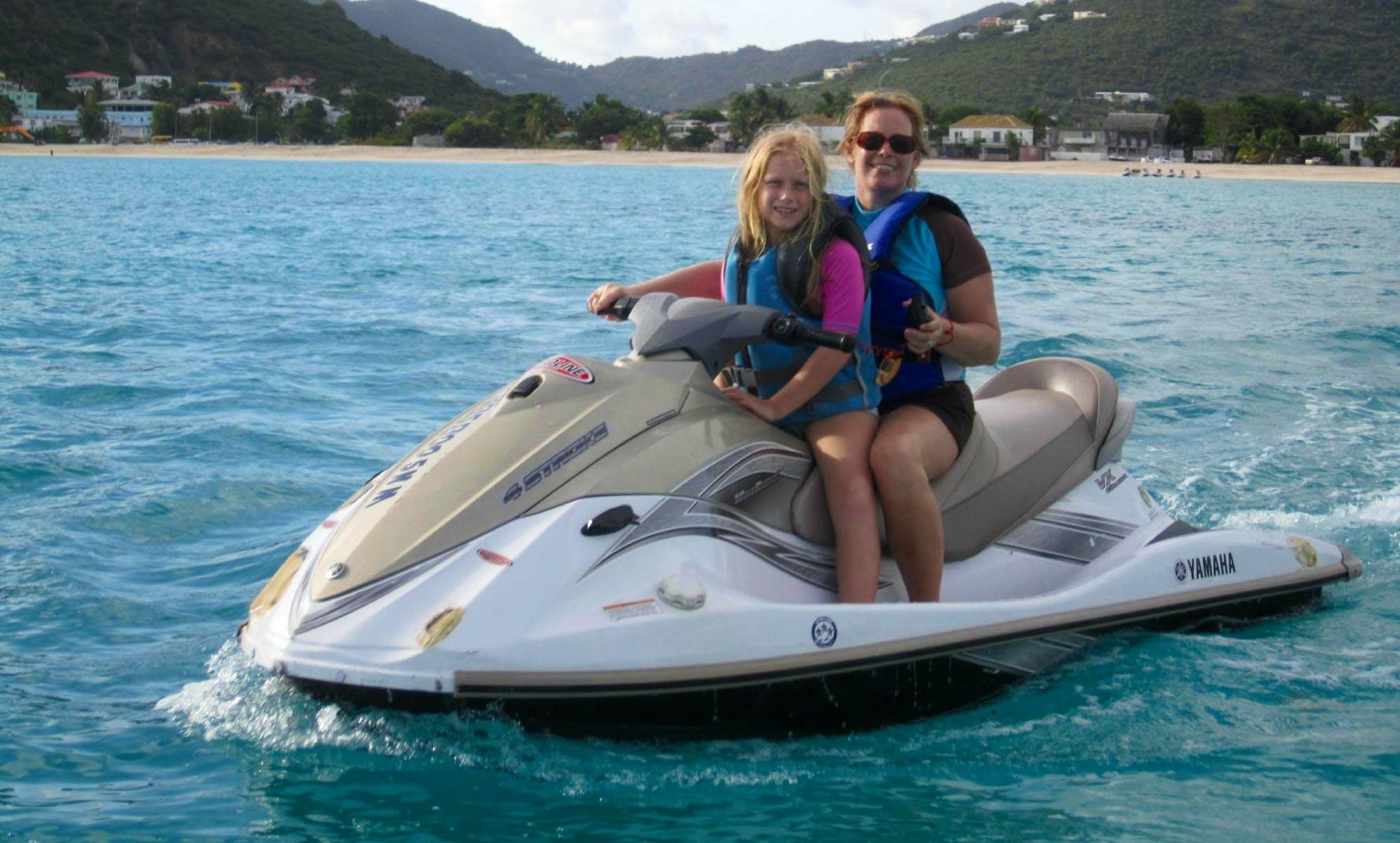 Hit the water with Jet Ski in Philipsburg, Sint Maarten