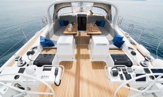 "Charter the yacht of your dreams Jeanneau 64 ""Bubamara""  Cruising Monohull in Rijeka, Croatia"