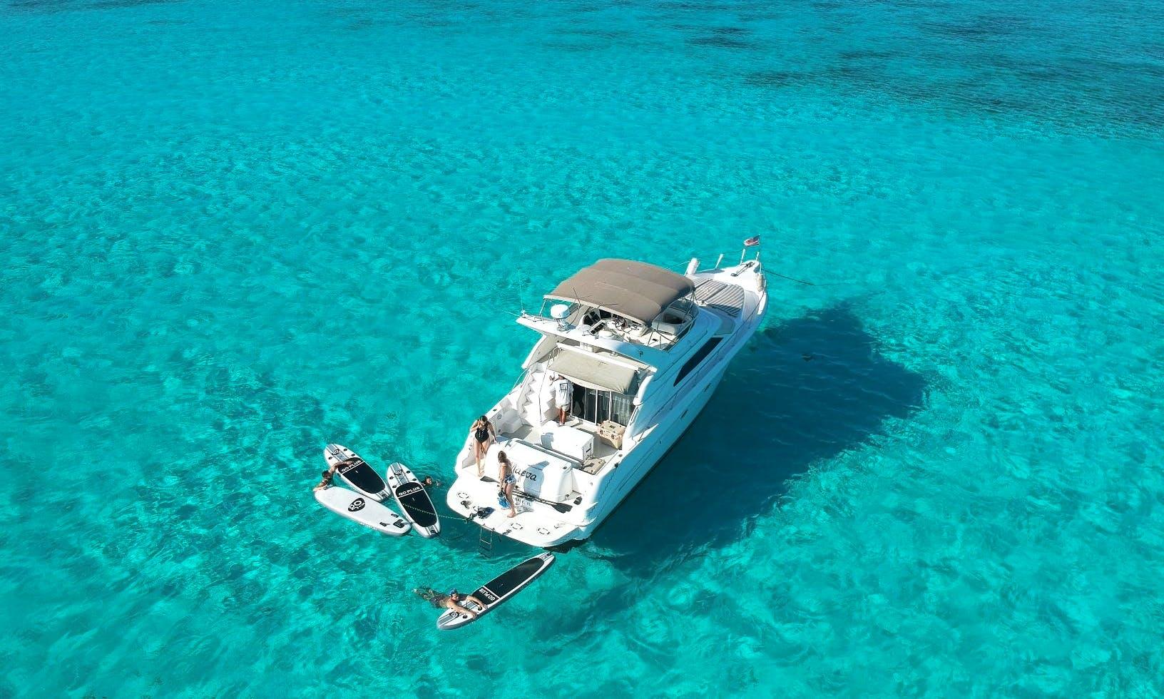 Beautiful Luxury Yacht in Puerto Aventuras!!!