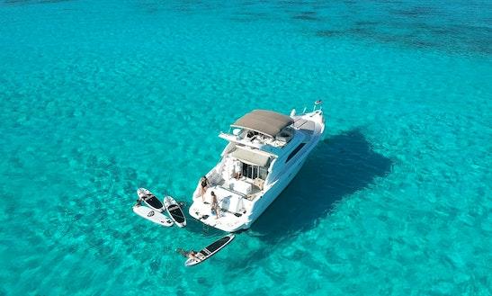 Finest Luxury Yacht In Puerto Aventuras!!!