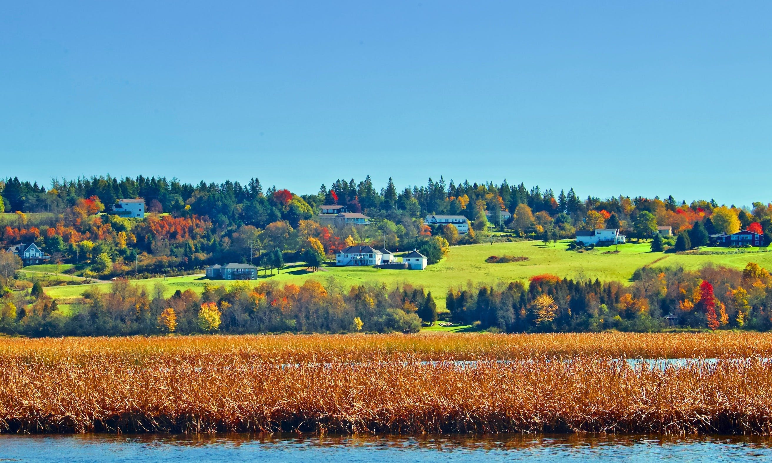 Sightseeing Tour along the Kennebecasis River