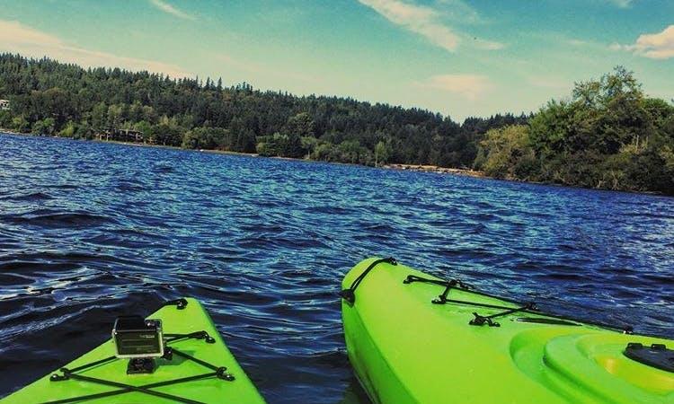Kayak in Issaquah, Washington