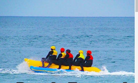 Banana Boat Tour At Estero Beach, Ensenada Baja California