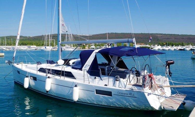 Charter 41' 4Play Cruising Monohull in Sukošan, Croatia
