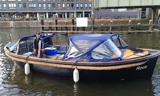Hire A Roos Electric Boat Rental In Amsterdam, Netherlands
