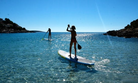Fun Experience Of Stand Up Paddling In Pula, Croatia