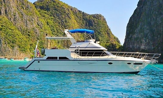 Yamaha 50 Ft Pleasure Yacht, Chalong, Phuket