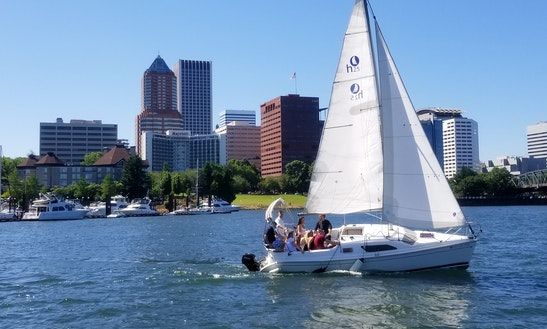 8 Passenger Hunter Cruising Monohull Boat Rental In Portland, Oregon
