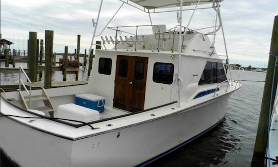 32ft Trawler Fishing Boat Charter In Highlands, New Jersey