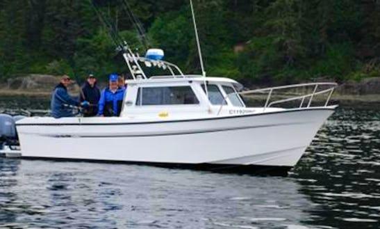 27' Head Boat Fishing Trips In Juan De Fuca, Canada