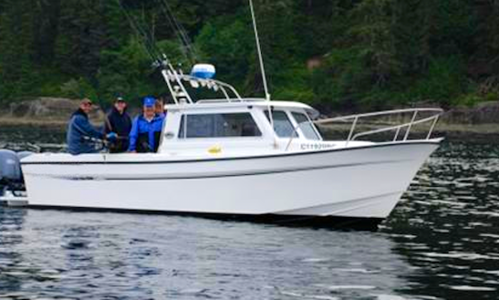 27' Head Boat Fishing Trips In Juan De Fuca, Canada
