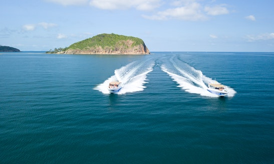 2 X 35ft Fiberglass Hull Motor Yacht Rental In Ko Samui, Thailand