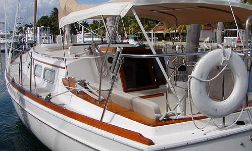 The Mistress - Relaxing South Florida Sailboat (With Captain Only)