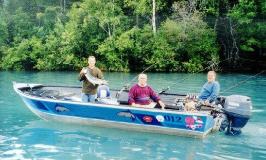 Bass Boat Fishing Trips In Sterling, Alaska