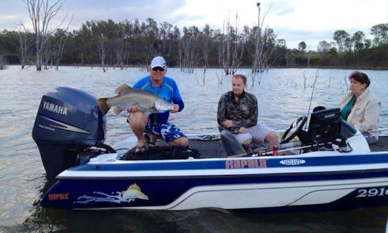 Enjoy Fishing On 19' Skeeter Bass Boat In Warana, Australia