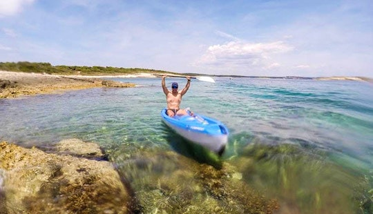 Single Kayak Rental And Excursions In Premantura, Croatia
