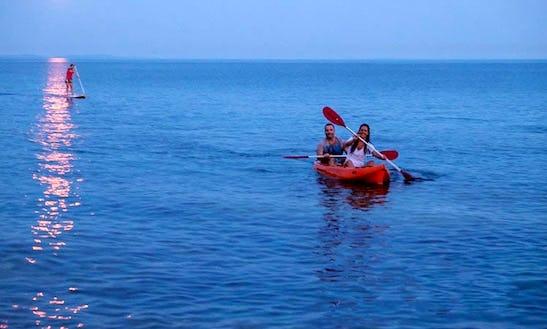Double Kayak Rental And Excursions In Premantura, Croatia