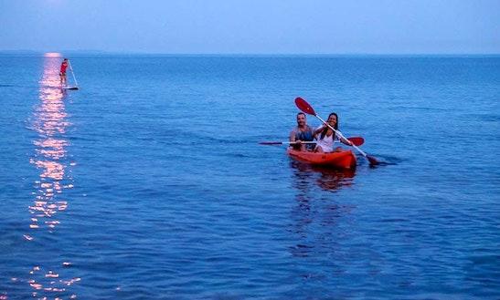 Double Kayak Rental And Excursions In Premantura