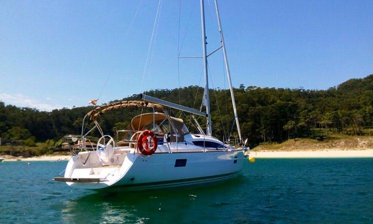 Sailing Yacht for 9 Person in Vigo, Spain!