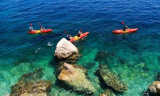 Explore Selce Sea  On A Kayak!