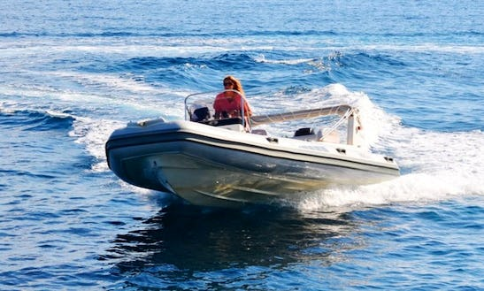 Bsc 65 Rib Rental, Available In All Ionian Islands