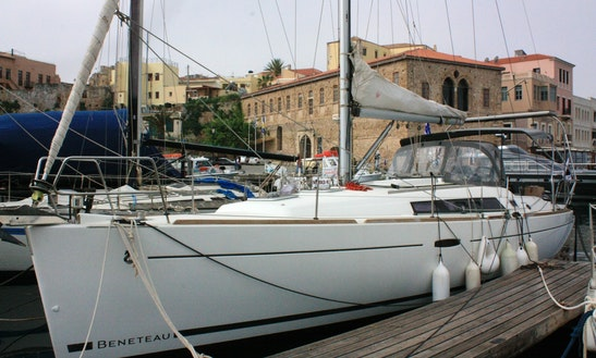37ft Beneteau Oceanis Sailing Yacht  In Chania, Greece