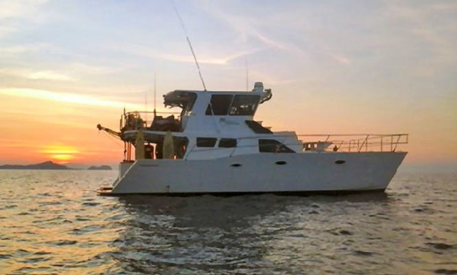 Have fun cruising in Bali, Indonesia aboard 46' Catline Power Catamaran