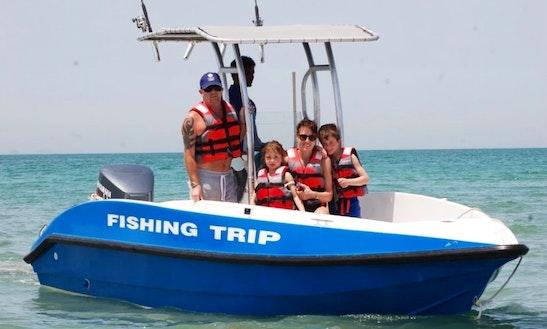 Fun And Exciting Fishing Trip For 6 People In Al Jazirah Al Hamra, Uae