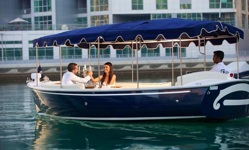 21' Duffy Electric Boat Rental In Dubai, UAE