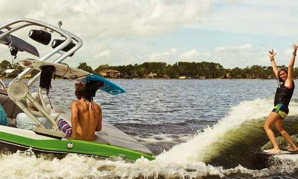 Let's Go Wake Surfing Today ! Only $99 !