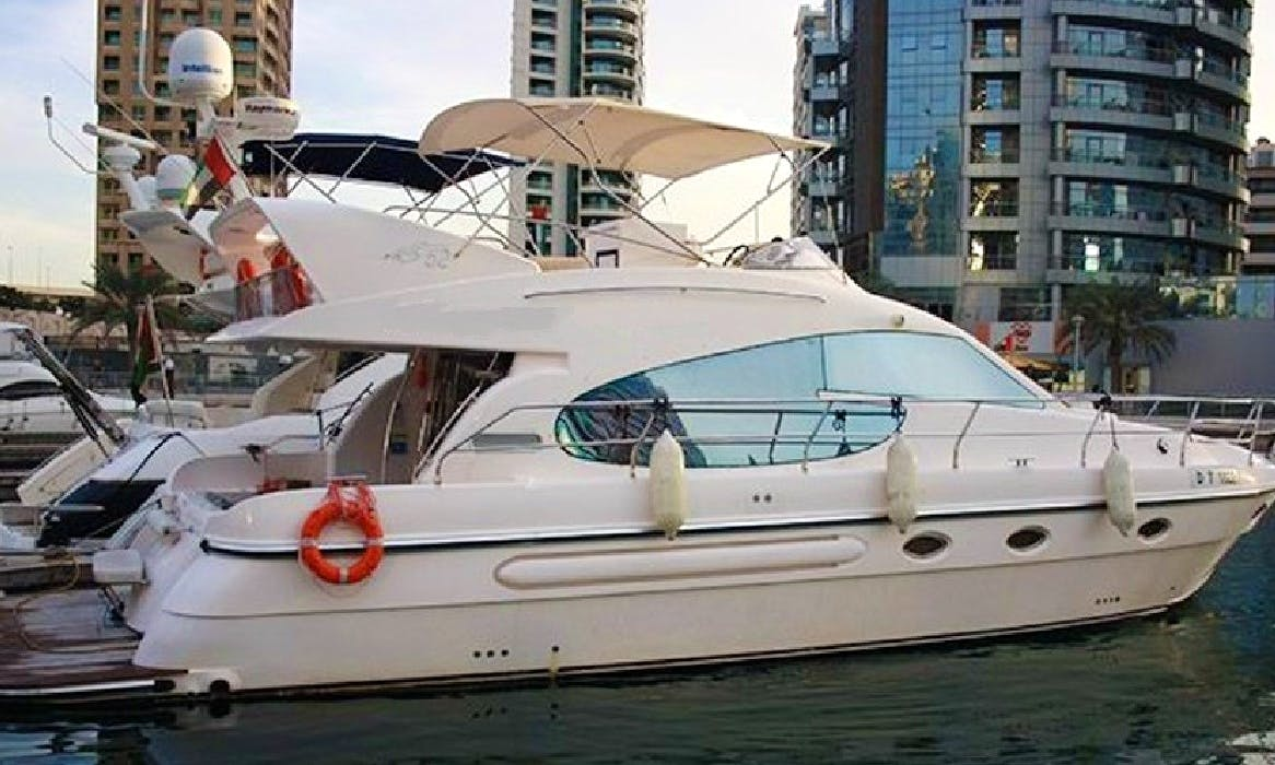 Have an amazing time in Dubai, United Arab Emirates on Sea Breeze Cozmo 52 Power Mega Yacht
