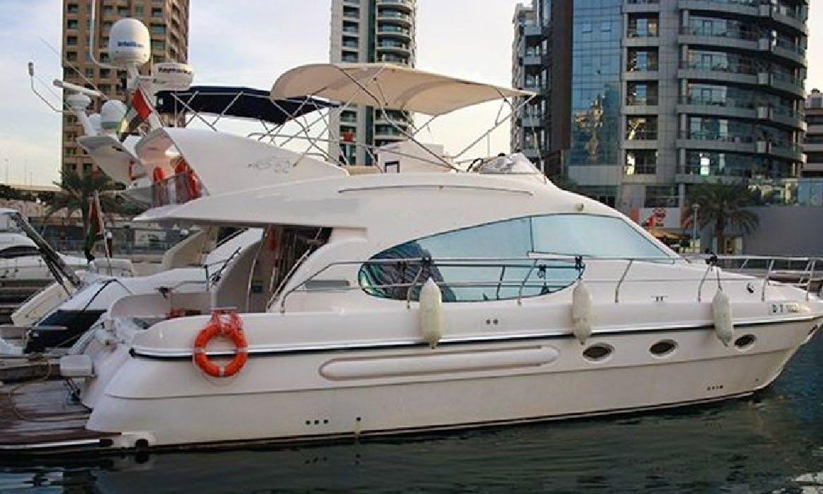 Have an amazing time in Dubai, United Arab Emirates on Sea Breeze Cozmo 52 Power Mega Yacht