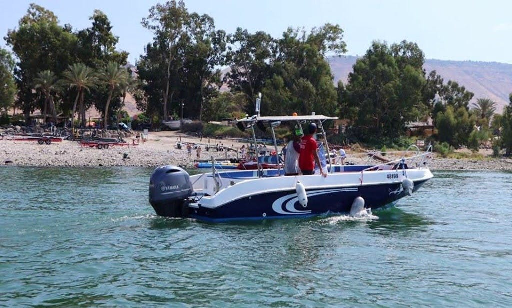 Based out of Ein Gev - captained charters!