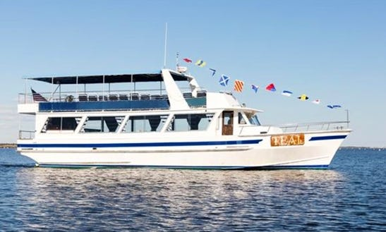 Large Private Uscg Yacht For Charter Nj/nyc