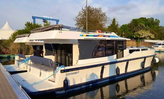 The Peace Cruise Aboard The 44' Motor Yacht In Nieuwpoort, Belgium