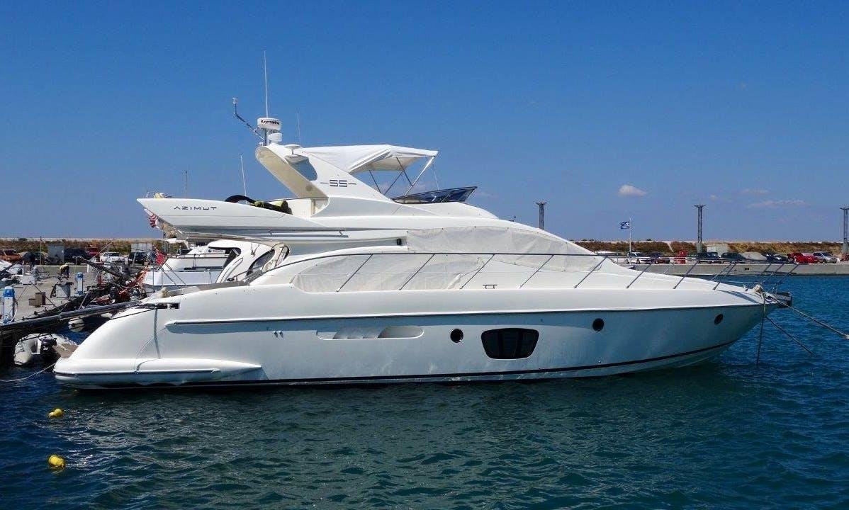 Charter this astonishing Azimut 55 Power Mega Yacht to explore Chonburi, Thailand