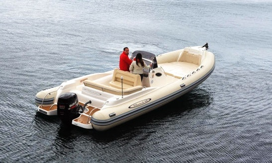 Have A Wonderful Ride On 27' Mistral 820 Rib In Milazzo, Sicilia
