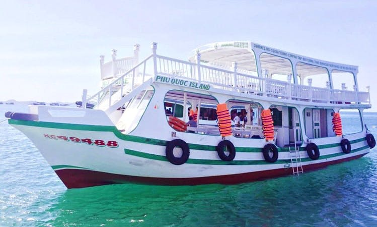 Snorkeling & Fishing to The South Phu Quoc For Up to 120 People
