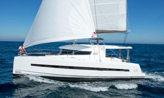 Bali 4.5 Bareboat Charter In Grenada