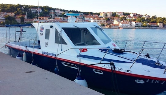 Experience From The Best Diving Places In Tisno, Croatia On 35' Speed Diving Boat