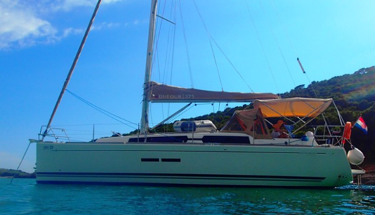 37' Dufour - One And Only Cruising Monohull Charter In Sukošan, Croatia