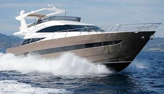 Charter The 64ft Galeon Power Mega Yacht In Maltese Islands, Malta