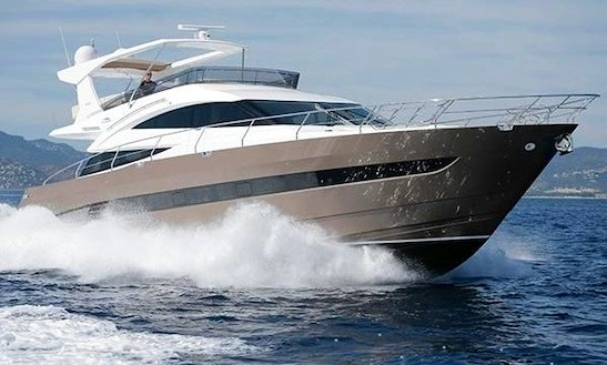 Charter The 64ft Galeon Power Mega Yacht In Maltese Islands, Malta