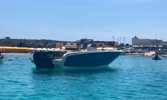 27ft Invictus Center Console Rental In Maltese Islands, Malta