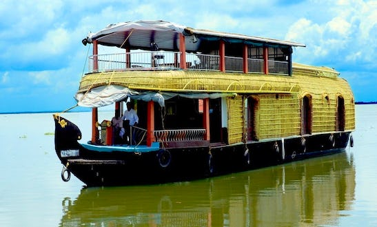 Relax For A Day On Houseboat Rental In Aryad South, India