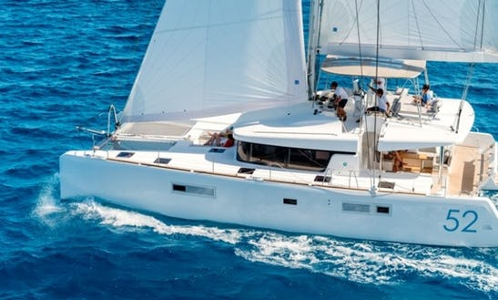 Lagoon 52 Bareboat Charter In The Bahamas